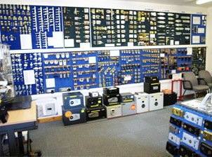 Morgans Locksmiths Showroom